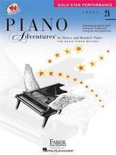 Le avventure di pianoforte prestazioni STELLA D'ORO 2A, SPARTITO TUTOR LIBRO, imparare pianoforte