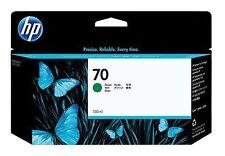 ORIGINAL TINTA HP Designjet Z3100 Z3200 / C9457A NR. 70 VERDE Cartucho de tinta