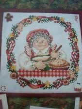 Mrs Santa Claus Christmas OOP Magazine Cross Stitch PATTERN (W)