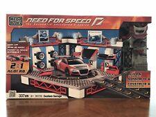 Mega Bloks Need For Speed 95720 - Custom Garage 2 in 1 Audi R8 (337 pcs)