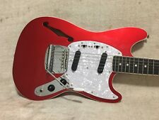Fender Limited Edition Thinline Mustang Japan MIJ Candy Apple Red - MG HO CAR