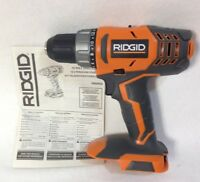 RIDGID R860052 NEW 18V 18-Volt Lithium-Ion Cordless 1/2 in. Compact Drill/Driver