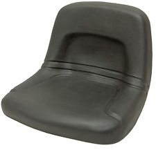High Back Lawn Mower Garden Tractor Seat Black