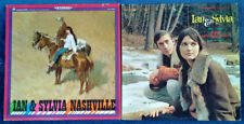 IAN & SYLVIA - NASHVILLE + EARLY MORNING RAIN -  VANGUARD LABEL  - (2) LP LOT