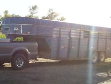 Used Keifer Built 20' 5th Wheel Livestock Trailer