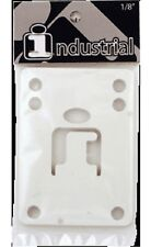 "Set of 2 Industrial 1/8"" Riser Pad Color White"