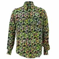Mens Loud Shirt Retro Psychedelic Funky Party TAILORED FIT Pineapples