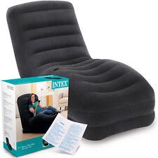 INTEX Lounge Sessel 68595 aufblasbar Fernsehsessel Liege Gamersessel Couch Sitz