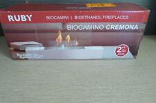 Biocamino 1,5kW da tavolo nero CREMONA