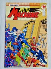 Justice League No. 1 January 1987 Comico The Comic Co. First Printing NM (9.4)
