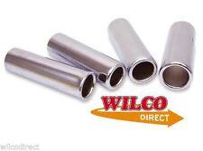 Exhaust Muffler Tail Pipe Trim 51mm Straight Chrome Performance Steel Pipe