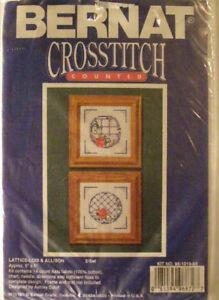Counted Cross Stitch, Lattie-Lois & Allison