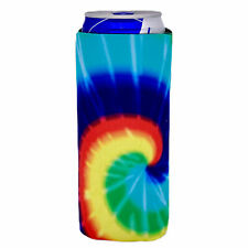 Tie Dye Slim Can Coolie; Compatible with Ultra, Claws, Skinny, Truly