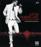 JUSTIN TIMBERLAKE - FUTURESEX/LOVESHOW-LIVE FROM MADISON SQUARE 2 BLU-RAY NEW+