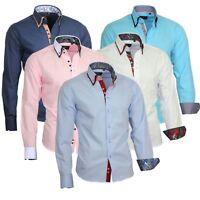 Herrenhemd Herren Hemden Hemd men dress Shirt Doppelkragen 810 V Binder de Luxe