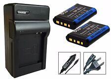 Cargador USB Blumax batería np-bx1 1100mah para Sony Action-Cam hdr-as200v