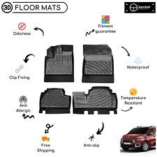 Custom Molded Rubber Floor Mat for Citroen Berlingo 2019-Up (Black)