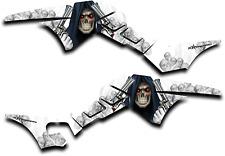 HONDA TRX250R GRAPHICS DECAL KIT GRIM REAPER REVENGE TRX 250 R STICKER WHITE