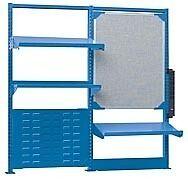 "LISTA XSSMNX-60/2424 - 48"" x 48"" Above Workbench Accessory Kit"