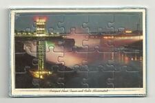 NIAGARA FALLS Prospect Point Tower Vtg Puzzle Postcard