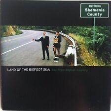 LAND OF THE BIGFOOT SKA - VARIOUS ARTISTS SKA REGGAE CD