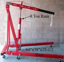 4000 LBS Engine Cherry Picker Hoist Shop Crane 2 Ton
