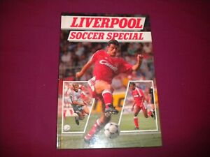 LIVERPOOL SOCCER SPECIAL BOOK 1990
