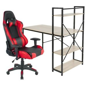 Adjustable Office Chair Quality Gaming Ergonomic Chair Red Black
