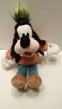 "Disney Goofy 12"" Plush Orange Sweater Stuffed Animal Toy"