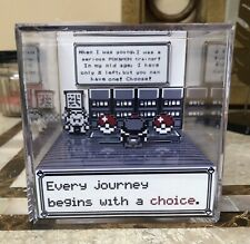Choose Your Pokemon 3D Cube Handmade Diorama - Video Games - Fanart - Shadowbox