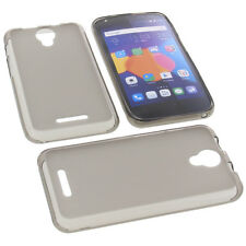 Case for Alcatel One Touch Pixi 4 5.0 3G Protector Cover TPU Rubber Case Grey