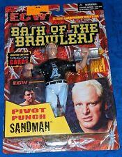 2000 ECW BASH OF THE BRAWLERS THE SANDMAN OSFTM Vintage WWF WCW FIGURE