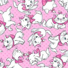 Disney Aristocats Many Faces of Marie premium 100% cotton fabric by the yard