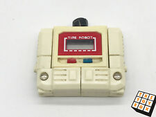 Vintage Transformers G1 KO Time Robot Wrist Watch