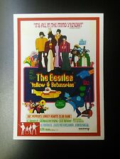 YELLOW SUBMARINE - BEATLES RARITIES trade card - RED 'Movie Posters' series