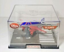 DISNEY STORE PLANES Die-Cast BULLDOG with Case- Free Shipping
