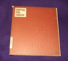 SKIPPING GIRL VINEGAR SIFT THE NOISE CD VGC GATEFOLD CD
