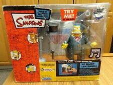 The Simpsons Be Sharp Centennial Interactive Playset, 2003, Playmates, Works!