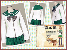 HighSchool of the Dead Miyamoto Rei Cosplay Costume