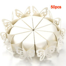 50 pz bomboniera scatola regalo a Farfall caramella torta per la festa nuzi M3K7