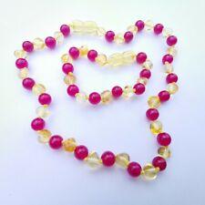 Teething Necklace & Bracelet set