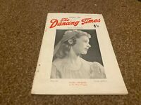 DANCING TIMES MAGAZINE 1945 OCT MOIRA SHEARER, NANA GOLLNER, MARGOT FONTEYN