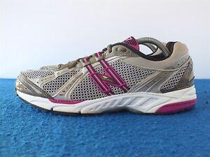 New Balance 737 Women's Running Shoes Gray/Magenta/Pink Sz 10 B Made in USA