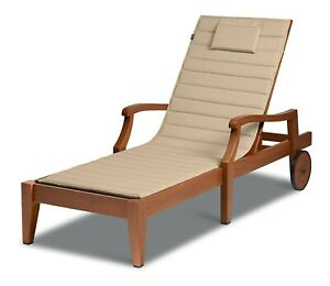 Classic Accessories Storigami Water-Res. 80 x 26 Inch Chaise Longue Beige Antiq.