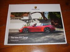 2020 Porsche 911 (992) Targa 4 brochure prospekt