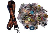 Disney World 25 Pin Trading Lot Lanyard Starter Set Pirates of the Caribbean