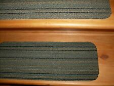 """13 Indoor Stair Treads Staircase Commercial Carpet  8"""" x 21"""". NEW Small step RUG"""