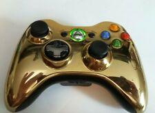 Genuine Xbox 360 Gold Limited Edition Wireless Controller rare!