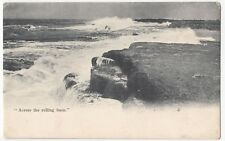 Devon; Plymouth 'Across The Rolling Foam' PPC, Unposted Early Card By Frith