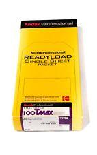 Kodak Pro Ready-load Single Sheet Packet TMAX 100 12 Sheets 4x5 film